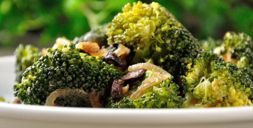 broccoli alici olive